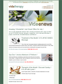 Current Vida Enews